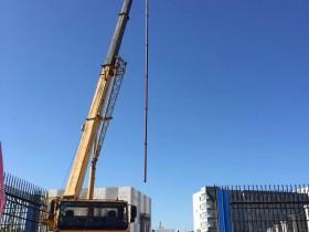 天津大学仁爱学院160KW热水深井泵整套机组及配件安装完毕