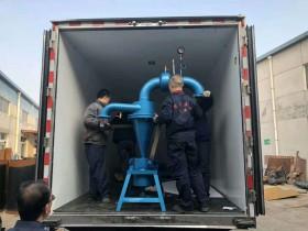 天津西青区地热井供暖用除砂器客户自行来厂里拉货