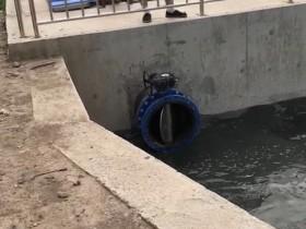 天津潜成泵业西青900QZB潜水轴流泵安装现场