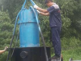 700QZB潜水轴流泵北京市平谷区安装现场