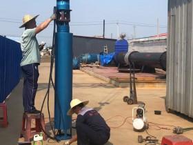 水池用200方120米潜水泵准备发往内蒙古大草原