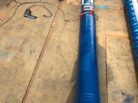 250QJR125方192米110千瓦耐高温热水深井泵发往北京