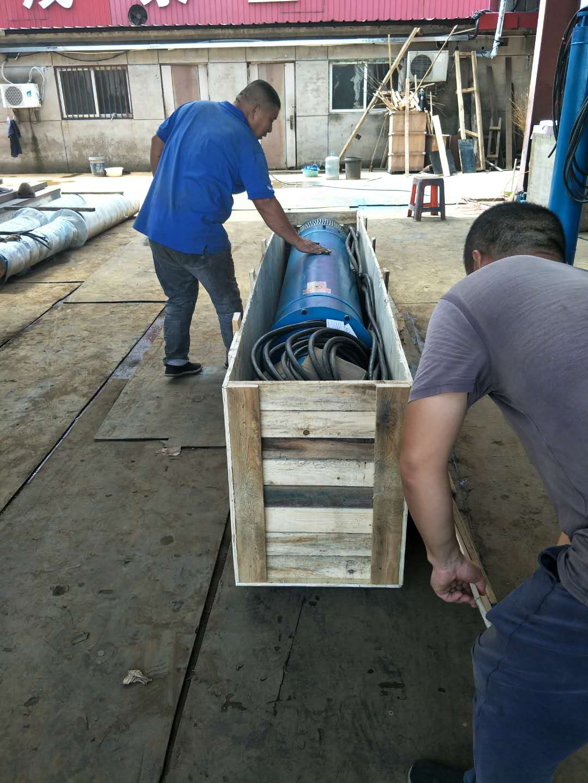 300QJW320-70-110KW卧式潜水泵发往江西第2张-潜水电机-潜水电泵-高压潜水电机-天津潜成泵业