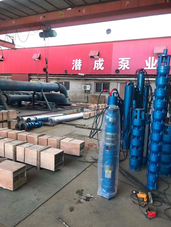 250QJ140-176/8-110KW发往北京第3张-潜水电机-潜水电泵-高压潜水电机-天津潜成泵业