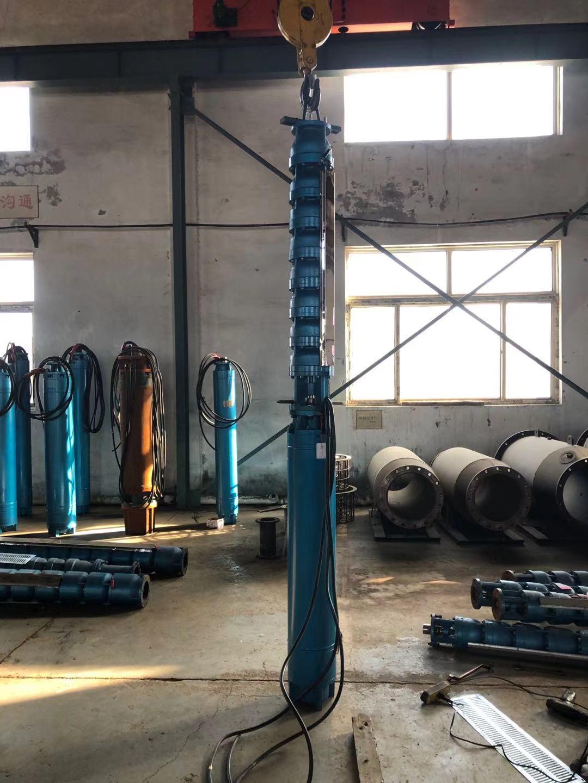 250QJ100-126-63KW潜水深井泵发往海南第1张-潜水电机-潜水电泵-高压潜水电机-天津潜成泵业
