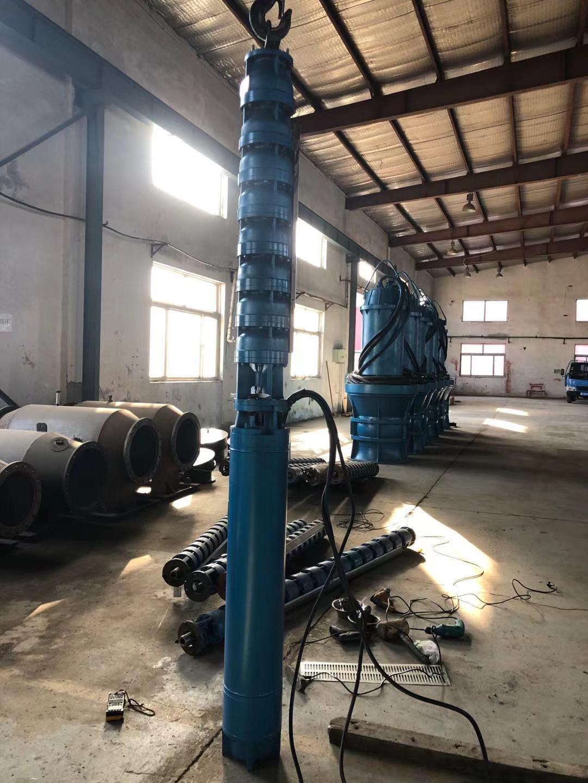 250QJ100-126-63KW潜水深井泵发往海南第2张-潜水电机-潜水电泵-高压潜水电机-天津潜成泵业